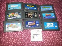 for sale, gameboy advance games bundle, all for 30dollar firm.
