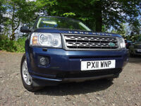 011 LANDROVER FREELANDER TD4 2.2 DIESEL 4X4,MOT MARCH 018,1 OWNER FROM,PART HISTORY,STUNNING 4X4