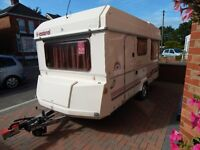 ESTEREL FOLDING CARAVAN 3 BIRTH WITH MOTOR MOVERS