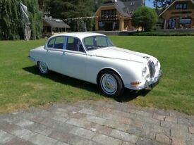 1965 RHD Jaguar S-type 3.8 petrol manual overdrive, after complete repair