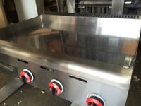 Griddle, Chrom Plated