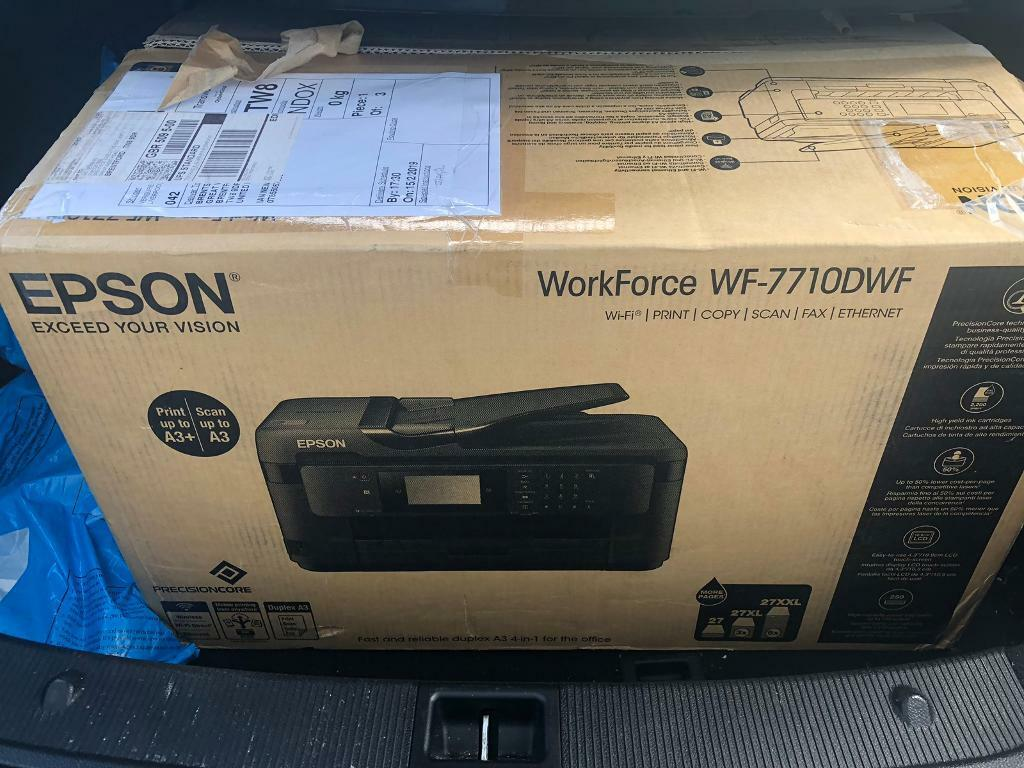 Epson Workforce WF-7710 DWF | in Sutton, London | Gumtree