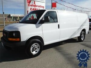 2016 GMC Savana 2500 Extended Length Cargo Van - Only 7,732KM