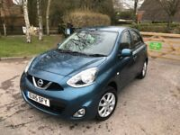 2015 NISSAN MICRA 1.2 PETROL 22,000 MILES ONLY FULL SERVICE HISTORY IMMACULATE