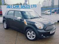 MINI COUNTRYMAN 1.6 COOPER 5d 122 BHP A GREAT EXAMPLE INSIDE AND O (black) 2012
