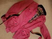 Super dry size L showerproof jacket.