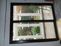 Brown Patio doors