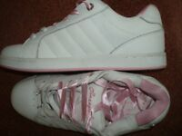 "Ladies ""Pineapple"" Trainers Size 8"