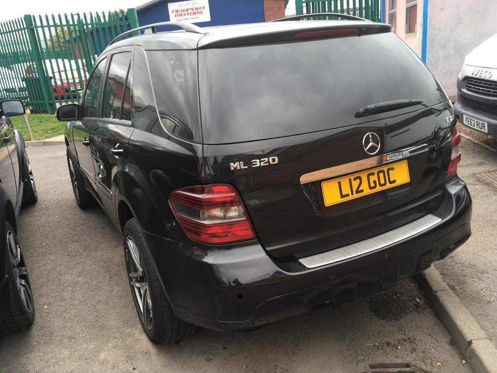 2006 Mercedes Ml 320 V6 Auto Hpi Clear In Middlesbrough North 99 Ml320 Fuel Filter Location Yorkshire Gumtree