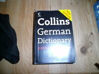 Collins German Dictionary book