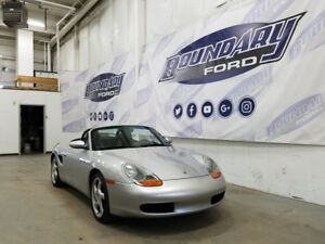 2001 Porsche Boxster W/ 5 speed Manual, 2.7L Flat 6, Power Roof