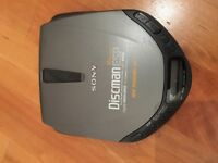 Vintage Sony Discman ESP (Disc man) (Personal CD player)