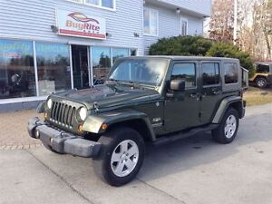 2007 Jeep Wrangler Sahara Hard and soft top!