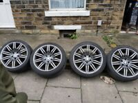 19 inch Bmw 5 series spider alloys