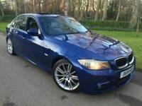 2009 59 BMW 320D M SPORT BUSINESS EDITION*FSH*LEATHER*SUNROOF*SAT-NAV*XENONS*H/SEATS*#MINT#530D