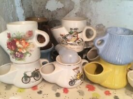 Vintage shaving mugs