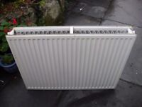Central heating double radiator