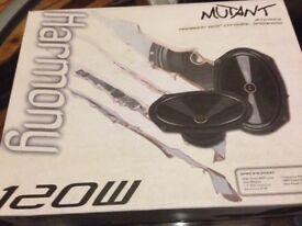 Mutant Harmony 6x9inch speakers 120w NEW