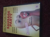 The Sausage Party DVD for sale.