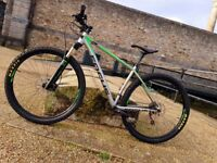 Mountain Bike FOCUS 29 inch wheels, Maxxis tubeless tyres, remote shock-lock, medium