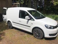 Vw caddy 2012 NO VAT Volkswagen caddy trendline, 12 months mot, surf van, camper cheap van