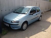 2003 Fiat Punto 1.2 gearbox/engine/electric steering all parts for sale