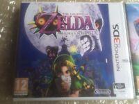 Legend of Zelda: Majora's Mask 3Ds (New-Sealed) + Ocarina of Time 3DS