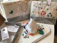 Silver Cross Zoobaloo Luxury Bumper, Mobile & Quilt (unused, in its original packaging)
