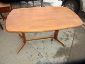 Unique Wooden Table $150.00