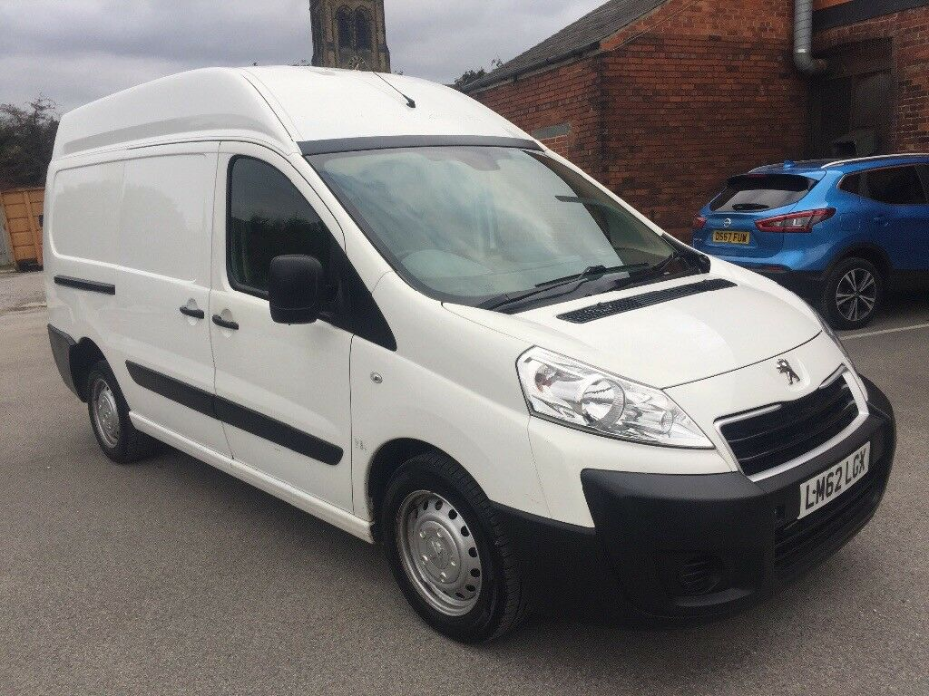 Peugeot expert extra high roof van 2012 62 2.0 hdi 6 speed lwb 1 owner full  service history no vat