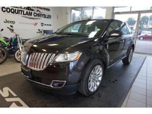 2011 Lincoln MKX Leather, Sunroof, Push Button Start.