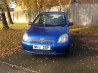 **TOYOTA YARIS**5 DOORS**ONLY 58000 MILES**1 LTR** SERVICE HISTORY**not corsa nissan renualt citreon