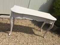 French style Dressing Table Console PROJECT