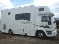7.5t man race truck luxury motorhome 4-6 berth,