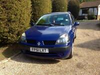Renault Clio only 61000 miles fsh