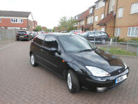 FORD FOCUS 2004/04 BLACK ALLOY WHEELS M.O.T LOW MILEAGE VERY NICE CONDITION