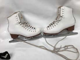 Jackson Mystique Ladies or Girls Figure Ice Skates size 4 UK, great condition