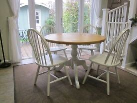 Lovely refurbished Table and Chairs