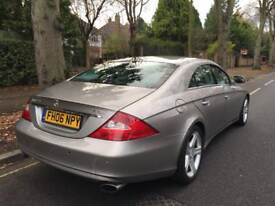 Mercedes CLS 320 cdi diesel - heated air cooled seats