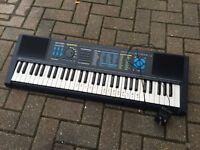 Electric bontempi sound processor keyboard