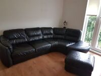 black dfs corner suite