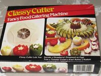 Decorative fruit and salad cutters