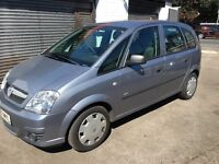 EXCELLENT CONDITION 2008 VAUXHALL MERIVA SEMI AUTOMATIC