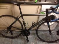 B twin racing bike