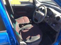 2006 Hyundai Amica 1.1 GSi 5 door Electric Blue .....Ideal first car, MOT until May 2017