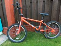 """Boys 20"""" bike bmx trax can deliver for a small charge"""