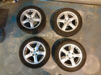 Honda Civic, Accord winter wheels and tyres 205 55 16 Continental Wintercontact TS830