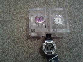 3x Watches