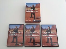 STEPHEN FRY IN AMERICA - AS SEEN ON BBC - 3 DISC BOXSET