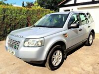 **1 OWNER** 2007 LAND ROVER FREELANDER S TD4 SILVER 2.2 DIESEL MANUAL 4X4 MPV